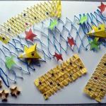 七夕飾りの折り紙の折り方!子供でも簡単にできる天の川は?