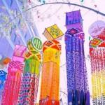 仙台七夕祭り2016日程 自動車規制と笹飾りの楽しみ方