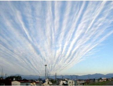 地震雲とは?地震の前兆を表す地震雲の種類とは